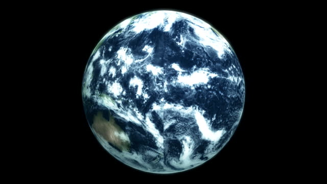 earth from space video