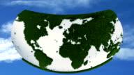 earth grass morph video