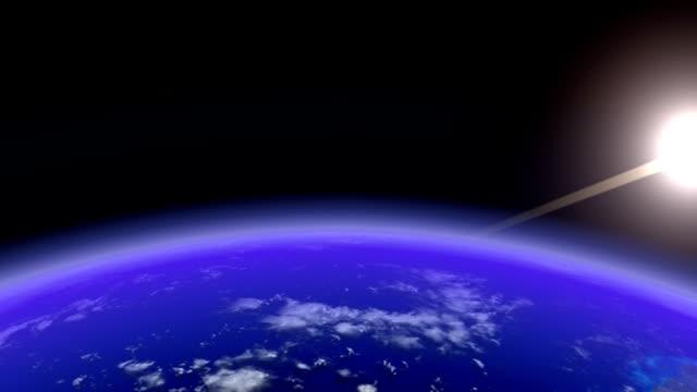 Earth Horizon slow (All Formats) video