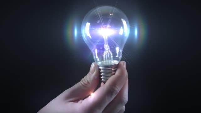 earth in a lightbulb video