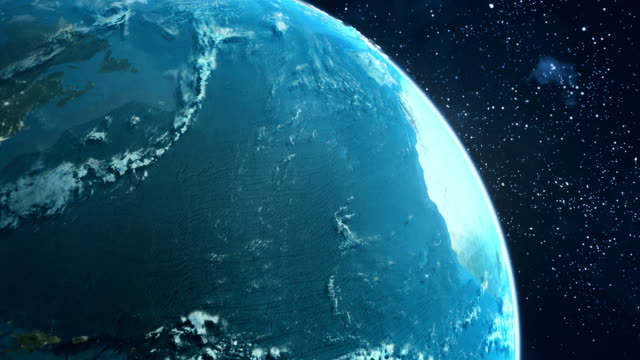 Earth zoom animation video