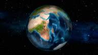 Earth Zoom In - Angola - Luanda video