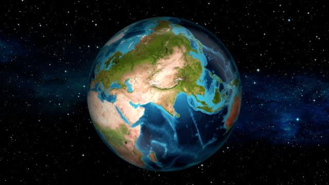 Earth Zoom In - Bahrain - Manama video