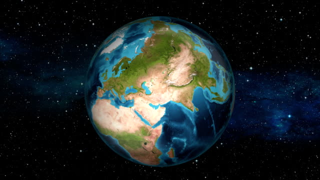 Earth Zoom In - Cyprus - Nicosia video