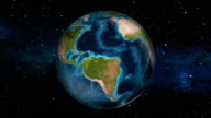 Earth Zoom In - Ecuador - Quito video
