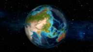 Earth Zoom In - India - New Delhi video