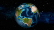Earth Zoom In - Jamaica - Kingston video