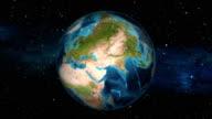 Earth Zoom In - Jordan - Amman video
