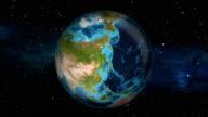 Earth Zoom In - Mongolia - Ulaanbaatar video