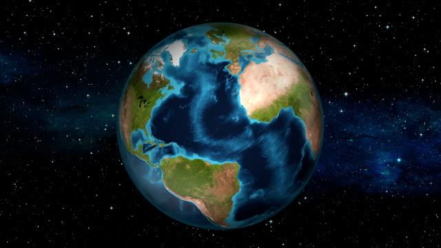 Earth Zoom In - Montserrat - Plymouth video