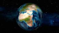 Earth Zoom In - Nigeria - Abuja video