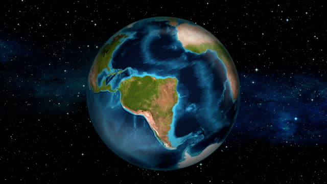 Earth Zoom In - Peru - Lima video