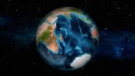 Earth Zoom In - South Africa - Pretoria video