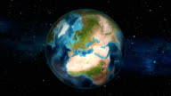 Earth Zoom In - Spain - Madrid video