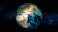 Earth Zoom In - Sudan - Khartoum video