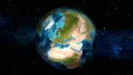 Earth Zoom In - Switzerland - Bern video
