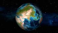 Earth Zoom In - United Arab Emirates - Abu Dhabi video