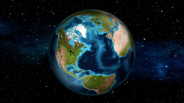 Earth Zoom In - United States - Washington video