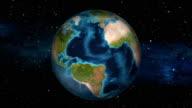 Earth Zoom In - Venezuela - Caracas video