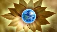 Earth-flower video