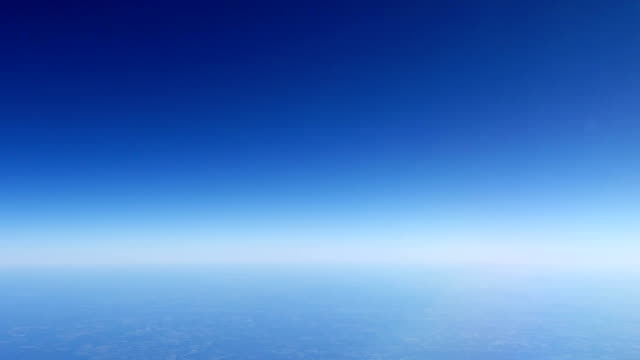 Earth's atmosphere, Planet horizon video