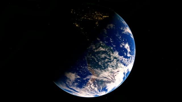 Earth's rotation video