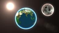 4K Earth's video