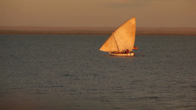 East african fishing boat video