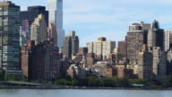 east side manhattan day light block 4k time lapse from nyc video