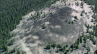 East Side Of Sapphire Mountains  - Aerial View - Montana,  Granite County,  helicopter filming,  aerial video,  cineflex,  establishing shot,  United States video