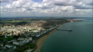 Eastbourne  - Aerial View - England, East Sussex, Eastbourne District, United Kingdom video