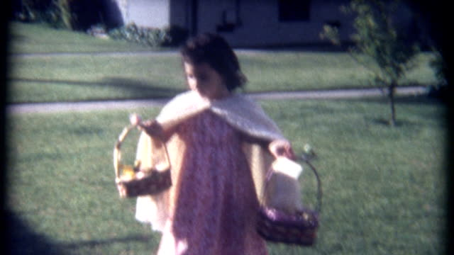 Easter Basket Display 1960's video