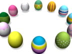 NTSC Easter Circle of Eggs video