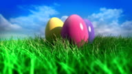Easter Eggs Spin Loopable video