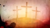 Easter Grunge Motion Background video
