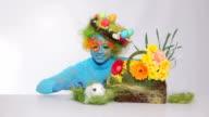 Easter scene video