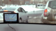 Easy traveling in the city with GPS device video