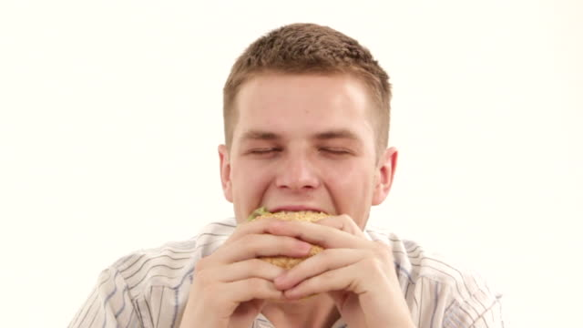 Eat a sandwich video