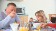 Eating Breakfast video
