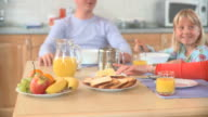 HD DOLLY: Eating Breakfast video