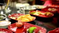 Eating in restaurants video