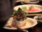 Eating Sushi (Time Lapse) video