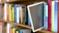 E-book reader Animation video