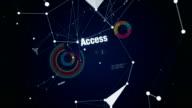 Economics, Statistic, Stock Market, Access, Analytics,Text animation 'FINANCE' video