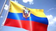 Ecuadorean Flag video