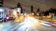 Ed Koch Queensboro Bridge Traffic time lapse video