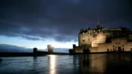 Edinburgh castle time lapse video