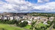 Edinburgh Cityscape - Time Lapse video