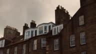 Edinburgh New Town Rooftop Pan video