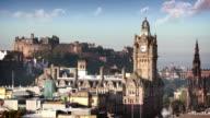 Edinburgh Skyline, Scotland, UK video